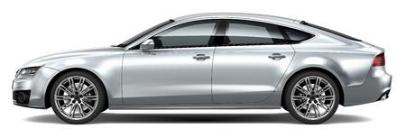 高級車の側面 写真素材