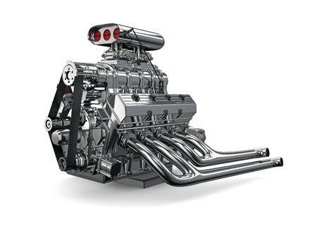 powerfully: Car engine