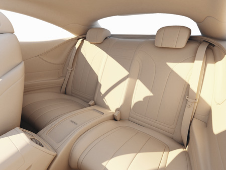 render: Car interior Stock Photo