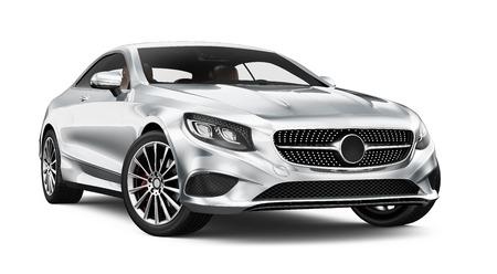 Modern coupe car