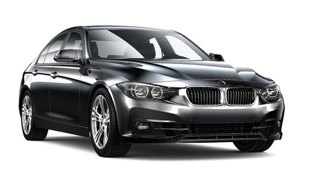 Executive black car