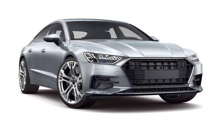 Executive Car isoliert auf weiss Standard-Bild