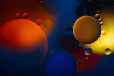Color circles. Background