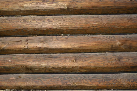 Wooden wall. Background