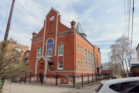 evangelical: Nizhny Novgorod, Russia. - April 26.2016. Church of Evangelical Christian Baptists in the lane Poltavsky 10