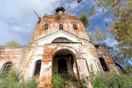 Abandoned Orthodox Church in the European part of Russia.