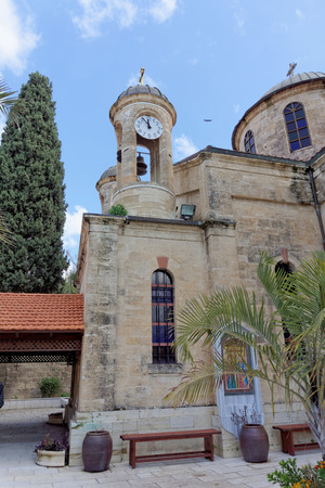 Nazareth, Israel. - February 17.2017. Greek Orthodox Church of the First Miracle.