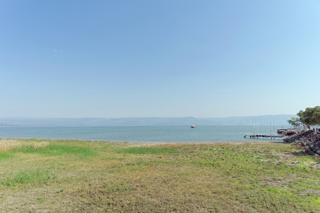 Israel, view of the Sea of Galilee