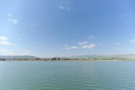 Israel, view of the Sea of Galilee. Dahl