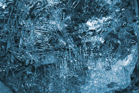 winterly: Texture of ice crystals