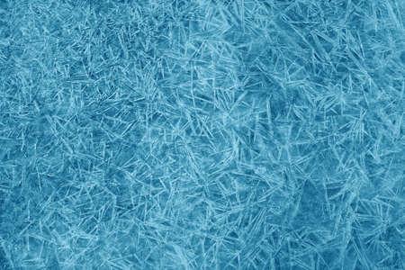 Textuur van ijskristallen Stockfoto