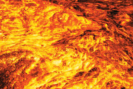 Lava, computer created image based on photo