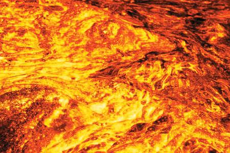 Lava, computer gecreëerde beeld gebaseerd op foto Stockfoto