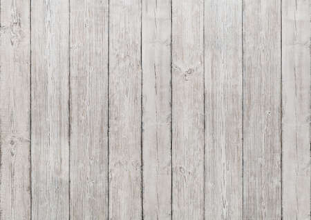 White Wood Planks Background, Wooden Texture, Floor or Wall Textured Old Panel