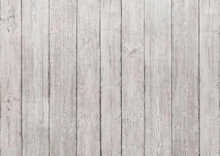 Witte Houten Achtergrond van Planken, houten structuur, vloer of wand gestructureerde oude Panel Stockfoto