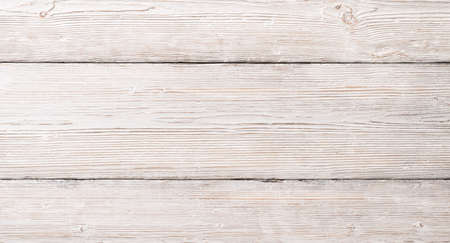 White Wood Planks Texture, Wooden Table Background