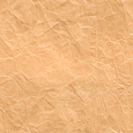 Wrapping Paper Seamless Texture, Brown Rumpled Wrap Background Imagens