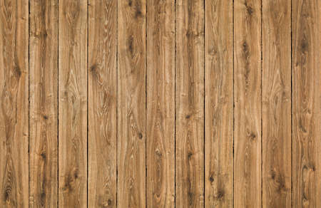 Wood Texture Planks Background, Brown Wooden Fence, Oak Grain Textured Plank, Wall or Floor Pattern