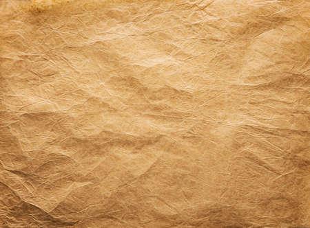 Oude gerimpelde Achtergrond van het Document, Papers Folds Rimpels Texture, Brown Verweerde Perkament