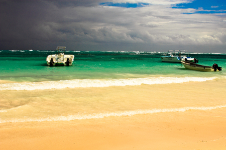 dominican: Impending storm, Dominican Republic.