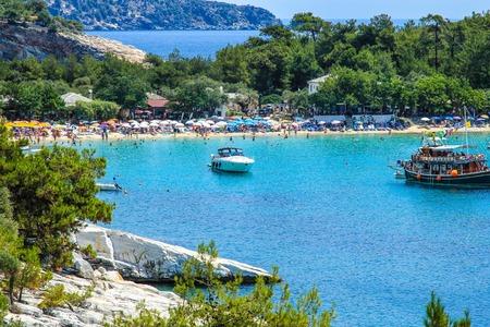 island: Thassos Island, Greece. Stock Photo