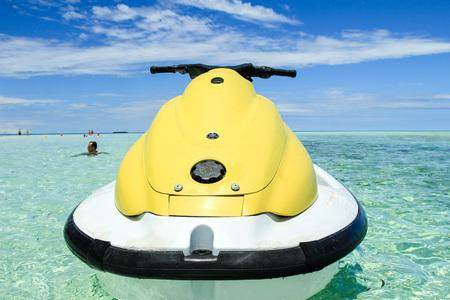 jetski: Jetski in the Maldives