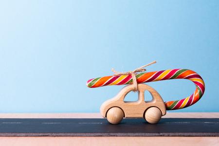 sweet tooth. childrens machine carries lollipop