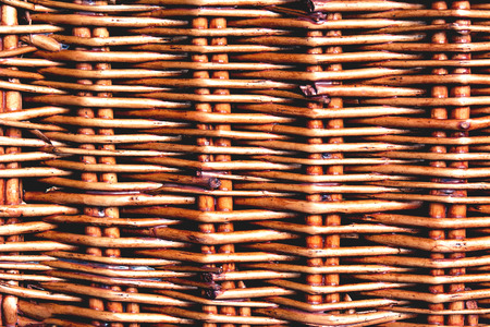 light brown natural woven pattern close up