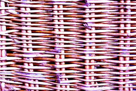 bright purple natural woven pattern close u