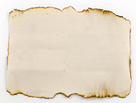 uneven edge: old, burnt on the edges of the sheet of paper. Like an old parchment, on which the pirates drew a treasure map.