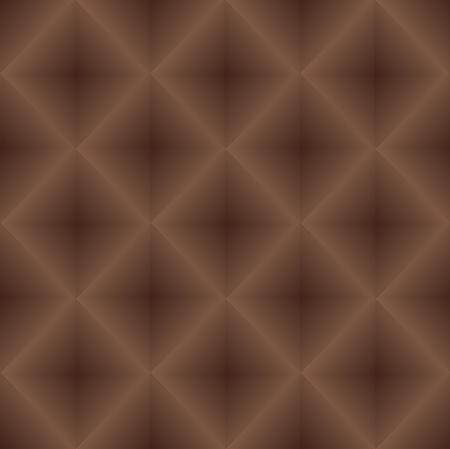 geometric seamless pattern, composed of a symmetrical gradient fills brown. Simulates parquet flooring