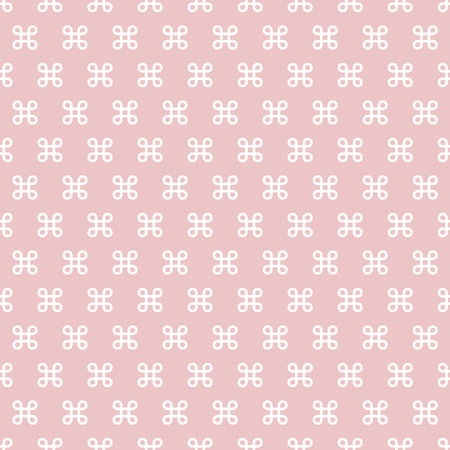 vector shapes with gradient fill of pastel colors form a seamless pattern