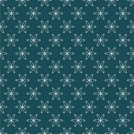 White symmetrical pattern.