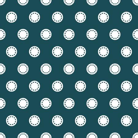 White dots pattern.