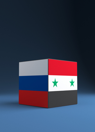 Confrontation between Russia and the United States in Syria.