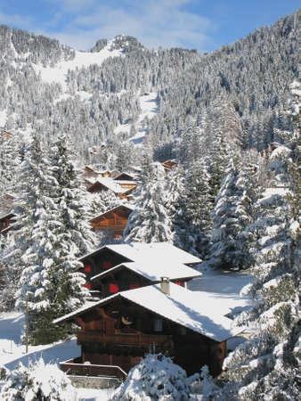 Villars-sur-Ollon. Switzerland. photo