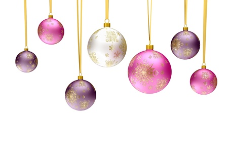 christmas bauble balls Stock Photo - 11195079