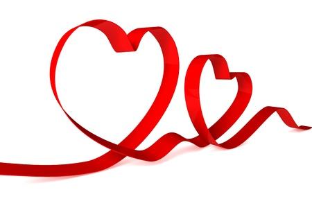 ribbon heart: hearts