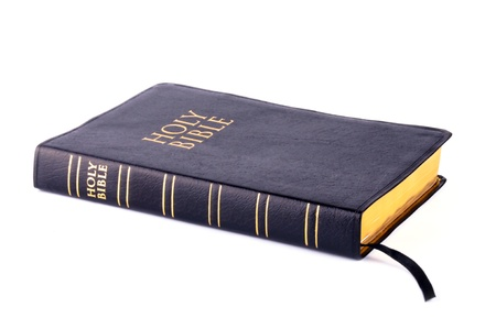Bible isolated on white background  photo