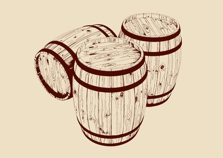 cask: barrel Illustration