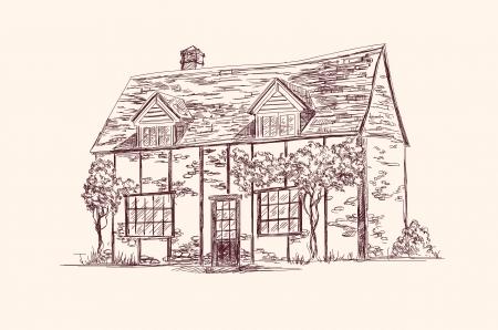 roof line: antigua casa de Ingl�s