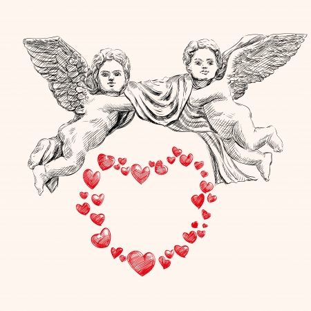 angel or cupid llustration Stock Vector - 17362707