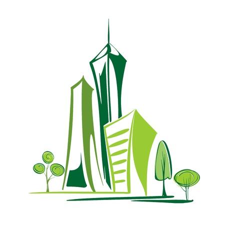 environnement entreprise: ville verte - Environnement et �cologie