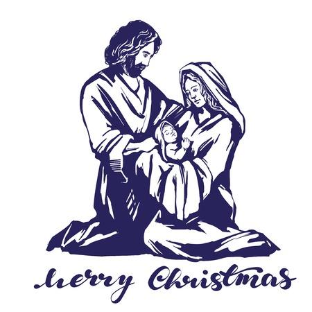 Christmas concept banner vector illustration.