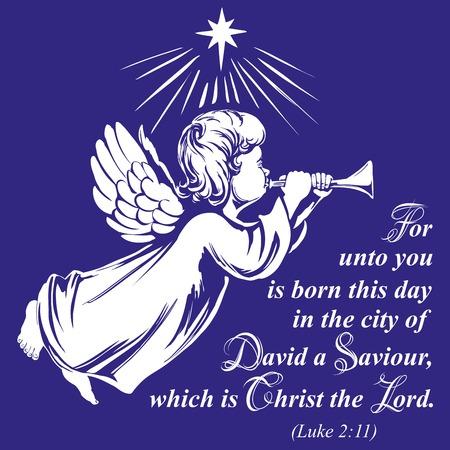 L'angelo vola e suona la tromba, simbolo religioso dello schizzo disegnato a mano dell'illustrazione di vettore di Cristianità Archivio Fotografico - 90438606