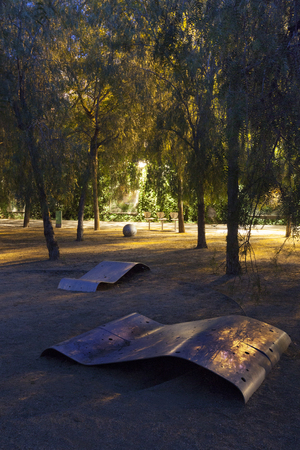 Parc del Centre del Poblenou (in Catalan, Parc del Center del Poblenou) is located in the Sant Mart district of Barcelona, in the Provencals del Poblenou neighborhood.