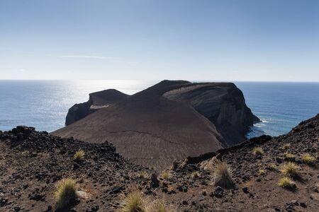 Capelinhos Volcano closeup, Faial Island, Azores