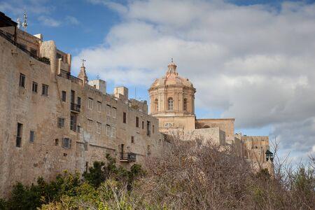 Panoramic view of Mdina, Malta