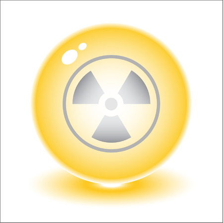 Vector radiation symbol illustration. Simply change. Other ecological vectors you can see in my portfolio. Stock Vector - 3219692