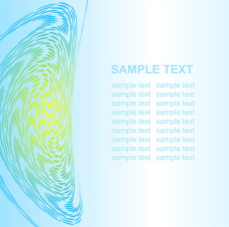 Abstract background. Blue set. Simply change. Other abstract backgrounds you can see in my portfolio. Vector